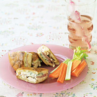 Chicken Cordon Blue Panini