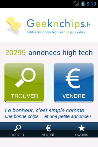 Geeknchips annonces high tech