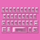 Hot Pink Pearl Keyboard Skin icon