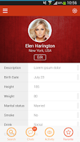 Screenshot of CheekyLovers Online Dating App