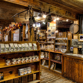 General Store by Michael Buffington - Buildings & Architecture Public & Historical ( wooden, stock, vintage, general store, historical, antique )