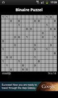 Screenshot of Binary Puzzle / Takuzu