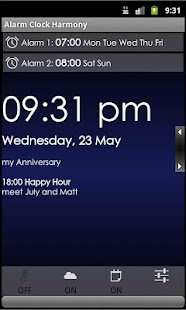 Talking Alarm Clock Harmony v4 - screenshot