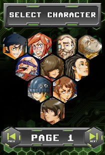 Genetic Fighters Anime Puzzle - screenshot