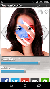 Paint your face Puerto Rico - screenshot