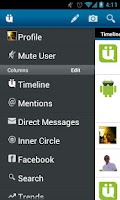 Screenshot of UberSocial PRO for Twitter