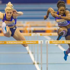 Birmingham Indoor Grand Prix - Feb '15 by Toyin Oshodi - Sports & Fitness Running ( field, athletics, indoor, birmingham, track, sport )