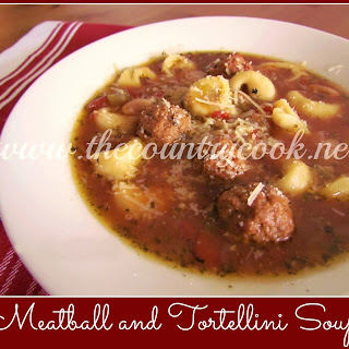 Crock Pot Meatball and Tortellini Soup