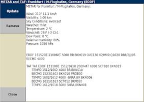 Screenshot of XCSoar-testing