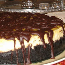 Chocolate Orange Cheesecake With Orange-Tangerine Glaze