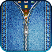 Jeans Zipper Lock Screen APK for Bluestacks