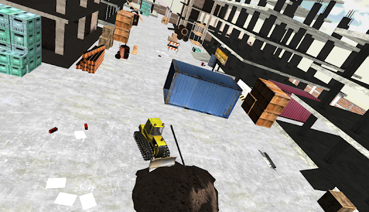 Bulldozer Simulator - screenshot
