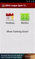 Screenshot of League Spain 2013/2014