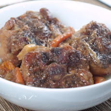 Brown Oxtail Casserole