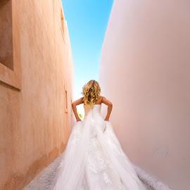 about a dreeeesss by Alexander Hadji - Wedding Other ( dress, wedding, greece, bride )