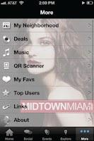 Screenshot of Midtown Miami.