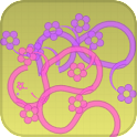 Peppy Flowers Live Wallpaper icon