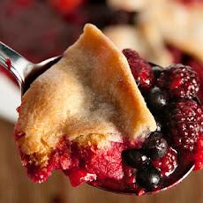 Basic Berry Cobbler Recipe