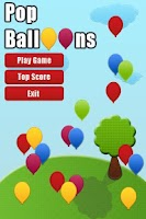 Screenshot of Pop Balloons