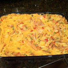 Chicken and Spaghetti Casserole