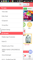 Screenshot of Qoo10 Indonesia