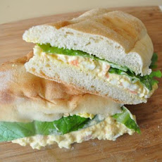 Smoked Salmon Egg Salad