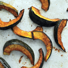 Roasted Spiced Acorn Squash