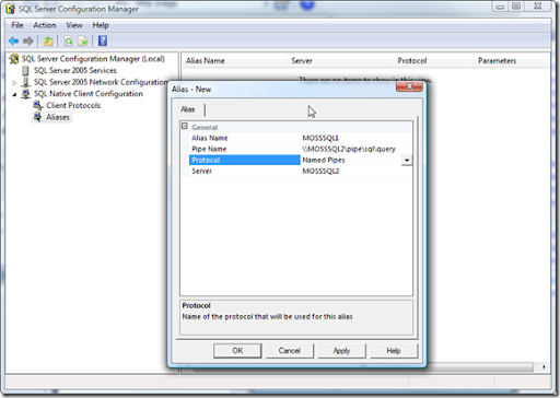 Using SQL Server Configuration Manager