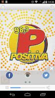 Screenshot of Positiva FM - Goiânia