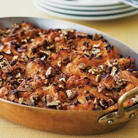 Sweet Potato Gratin with Pecans