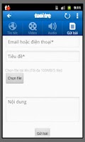 Screenshot of Tuoi Tre (Smartphone)