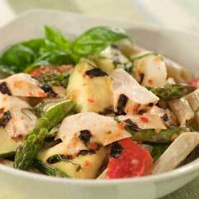 Grilled Chicken & Veggie Pasta Salad