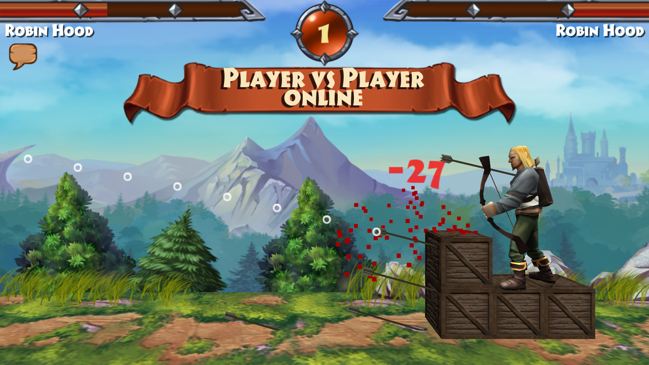 Robin Hood - Archery Games PVP Screenshot 1