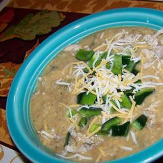 Restaurant-Style Cheesy Poblano Pepper Soup