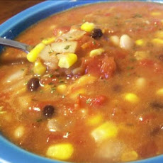 Quick Vegetarian Taco Soup