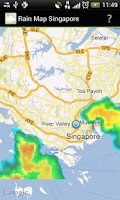 Screenshot of Rain Map Singapore