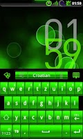 Screenshot of GOKeyboard PoisonGreen - Free
