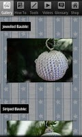 Screenshot of Christmas Crochet Bauble