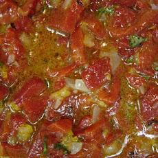Mechwiya (Roasted Pepper Salad)