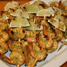 Spicy Coconut and Lime Grilled Shrimp