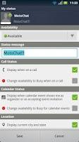 Screenshot of MotoChat