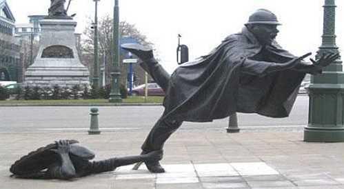 Wierd Statue