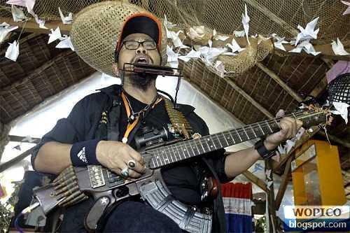 Guitar from Gun
