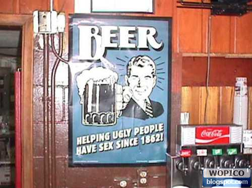 Ugly People Need Beer