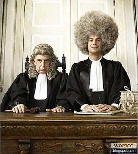 Judge Hair Cut