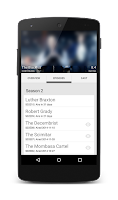 Screenshot of Twee - keep track of tv-series