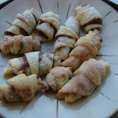 Rugelach (Filled Cream Cheese Cookies)