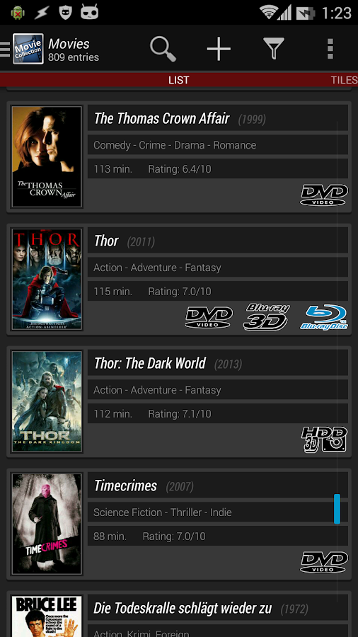 Movie Collection Screenshot 2