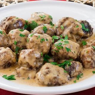 Chicken Swedish Meatballs Recipes