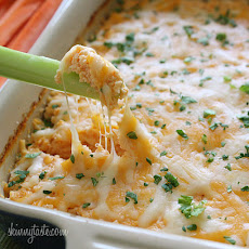Hot and Spicy Buffalo Shrimp Dip